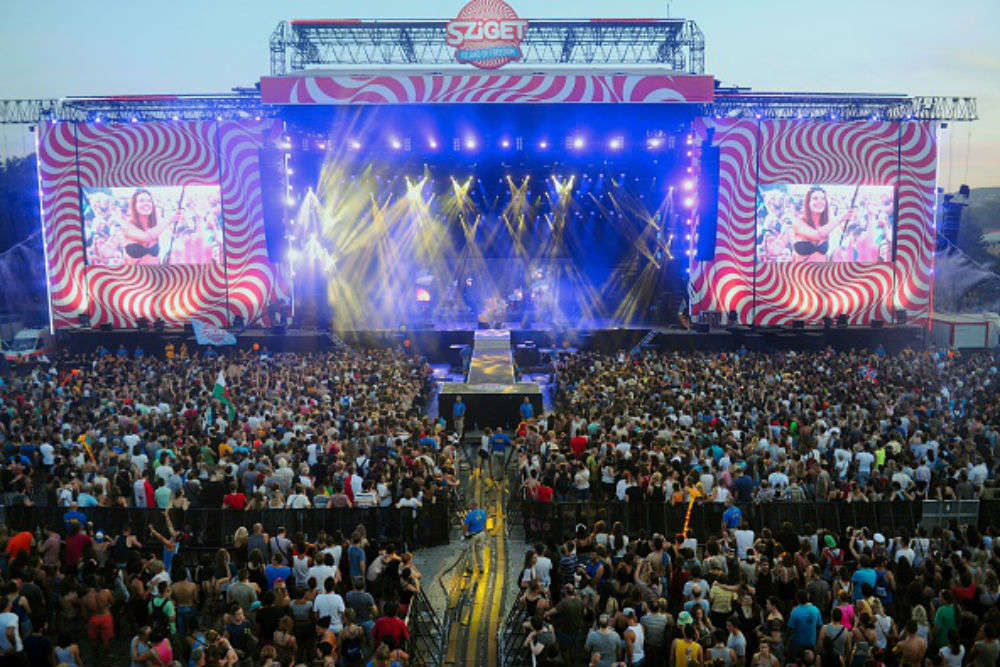 Attend Sziget Festival