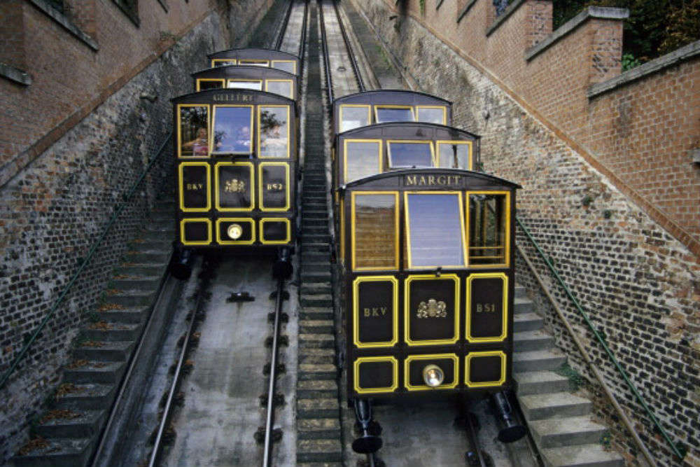 Take a funicular from Buda Hill