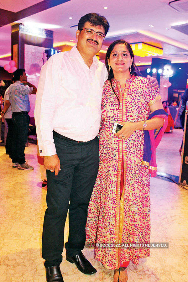 Rajul, Nidhee host party