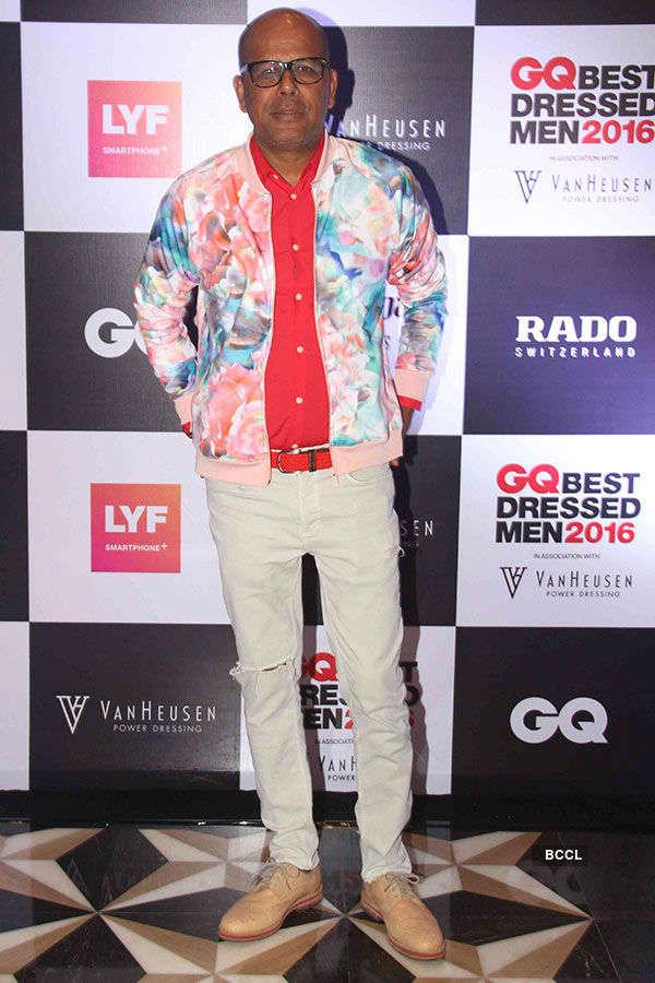 GQ Best Dressed Men 2016 Awards