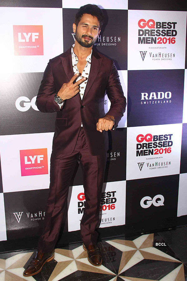 GQ Best Dressed Men 2016 Awards