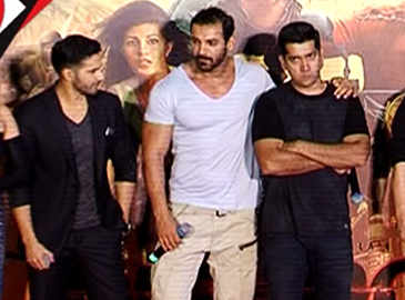 Varun has been beaten up a lot by me: Rohit Dhawan