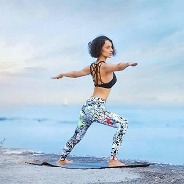 Kangana Ranaut's workout regime comprises of a good dose of yoga