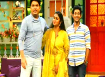 'Sairat' team on 'The Kapil Sharma Show'