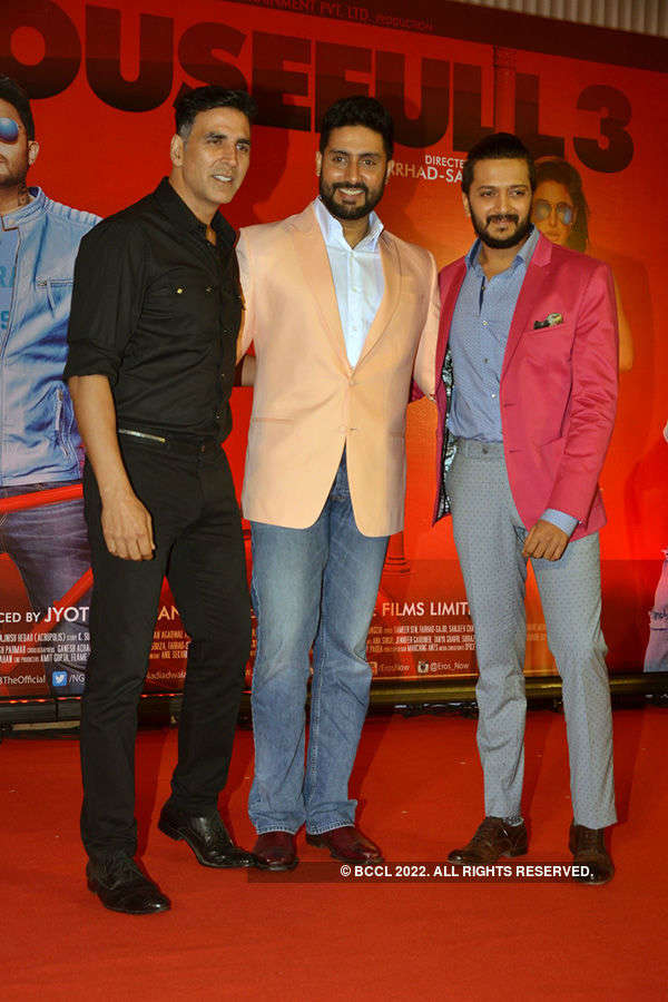 Housefull 3: Press meet