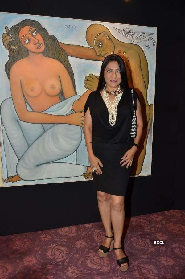 Jogen Chowdhury's art display