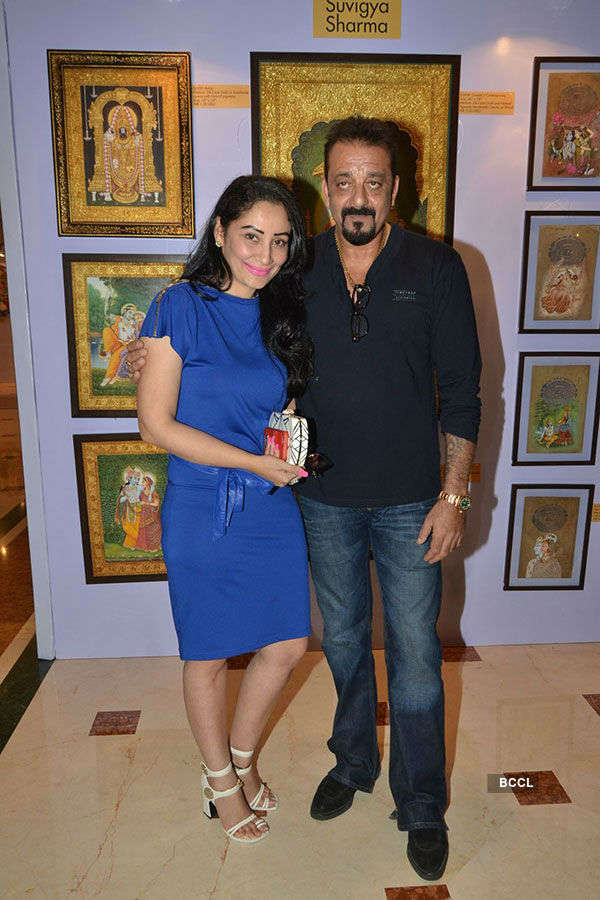 Celebs at Art Exhibition