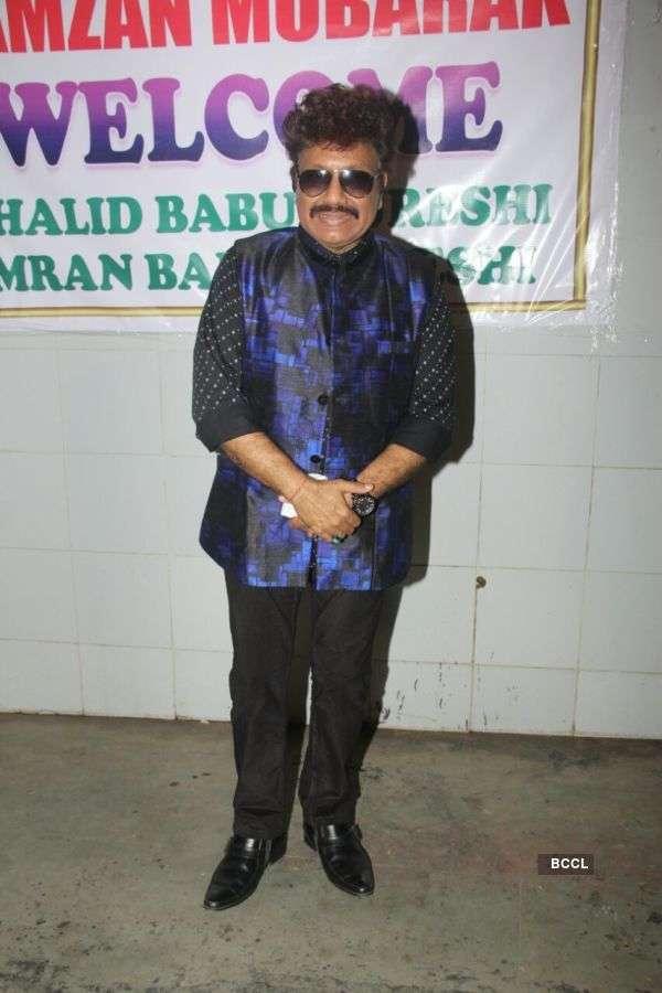 Sanjay Dutt attends Sehri dinner