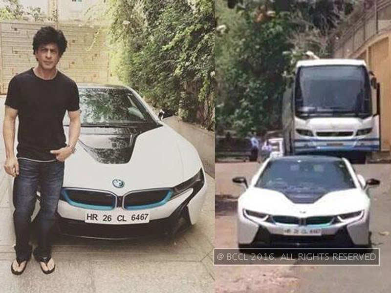 Shah Rukh Buys Bmw 18 Takes It For A Spin