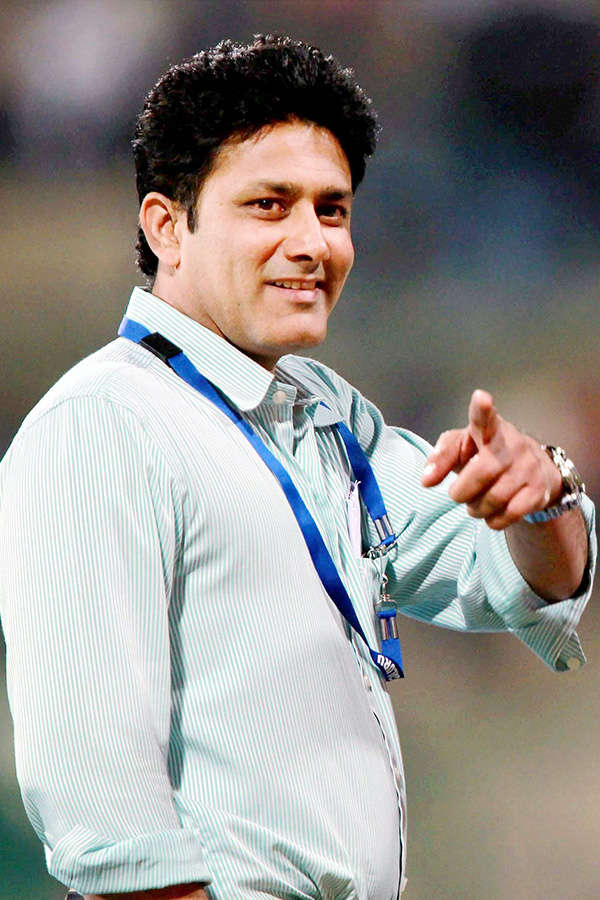 Anil Kumble named Team India head coach