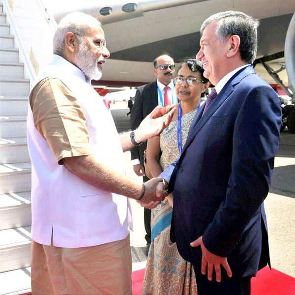 PM Modi's Uzbekistan visit