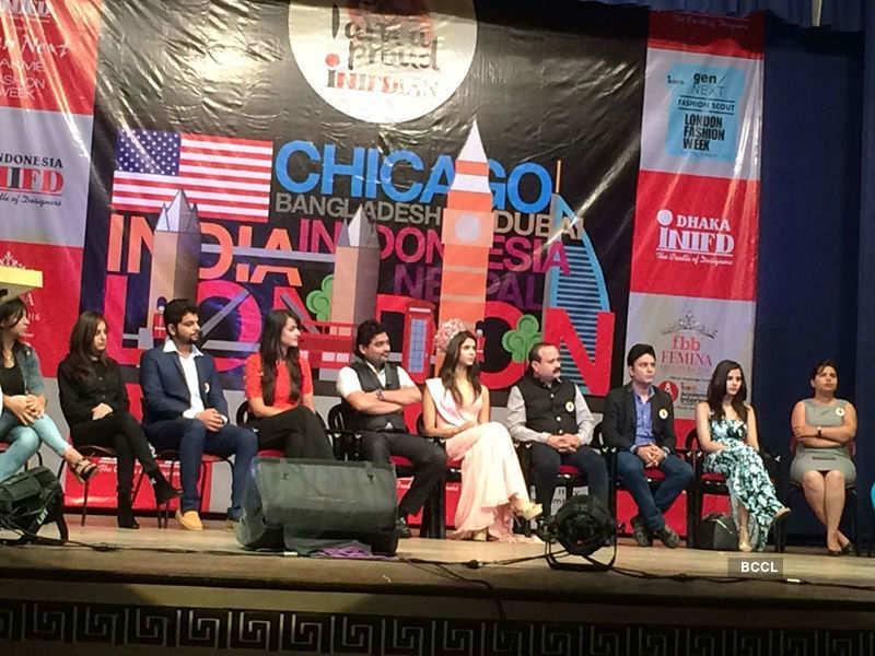 Pankhuri Gidwani at the INIFD Deccan event