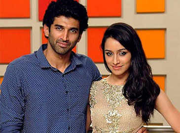Aditya giving special attention to Shraddha