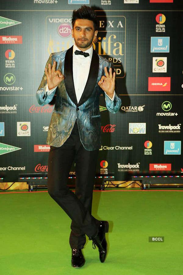 Ranveer Singh at IIFA 2016
