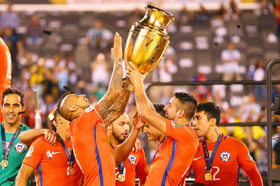 Chile win Copa America title