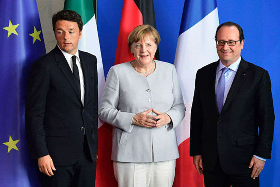 Germany, France, Italy vow 'new impulse' for EU
