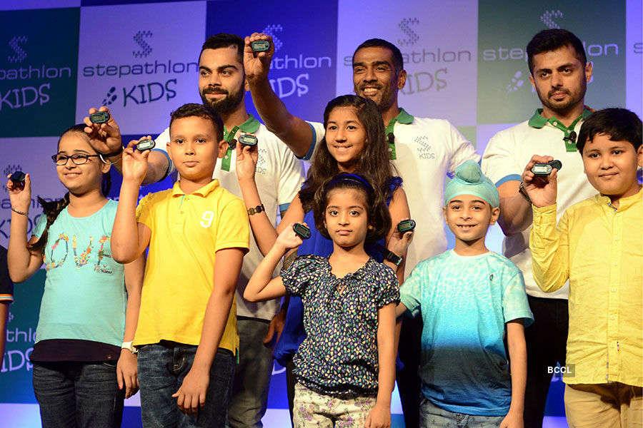 Virat promotes Stepathlon's new venture