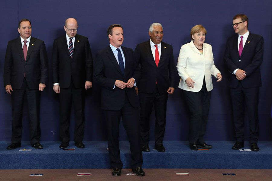 Cameron attends European Council Meeting