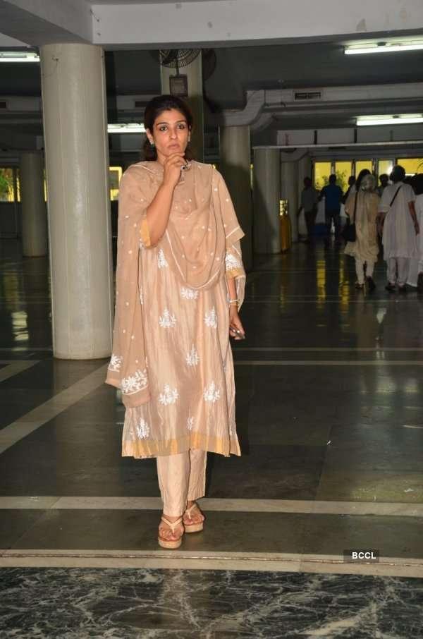 Raveena's FIL's prayers meet
