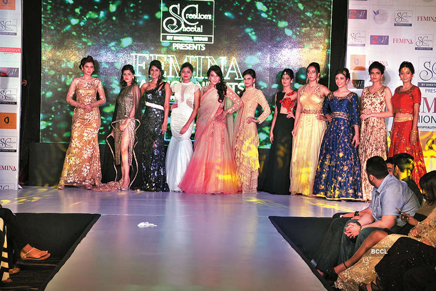 Celebs attend fashion show