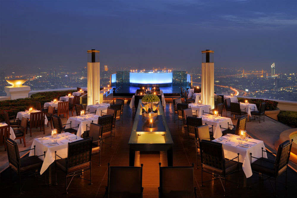 Sirocco Restaurant & Sky Bar