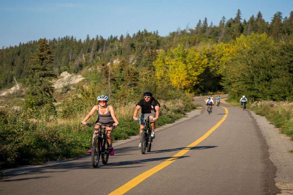 Bike the trails