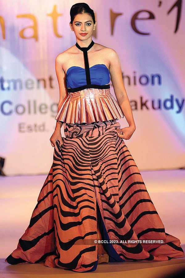 Leona Lishoy attends fashion show