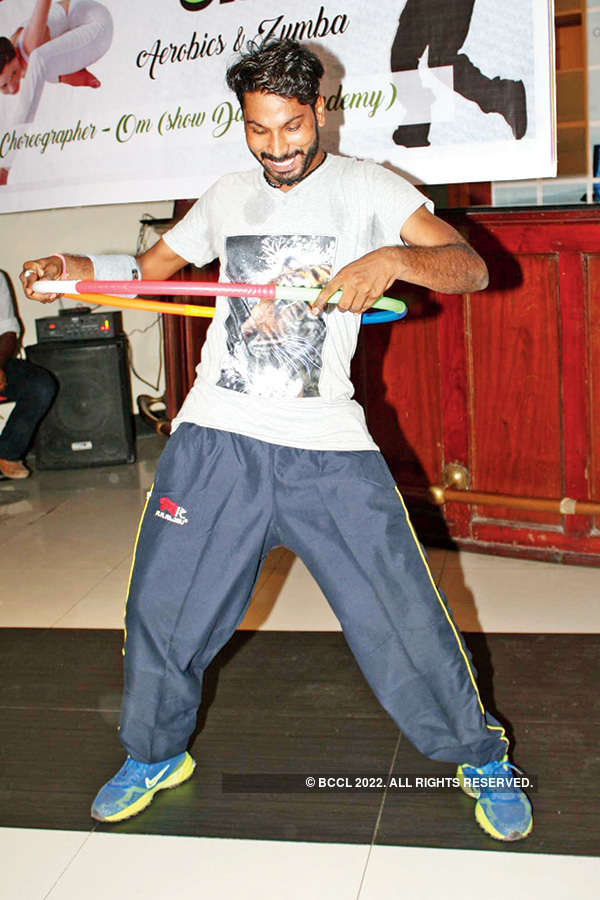 Fitness session in Banaras