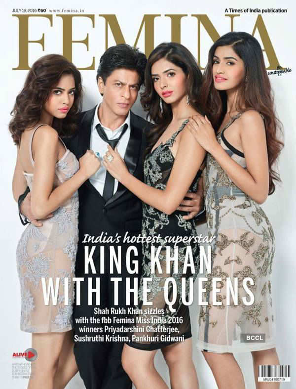 Miss India 2016 winners dazzle on Femina cover with SRK