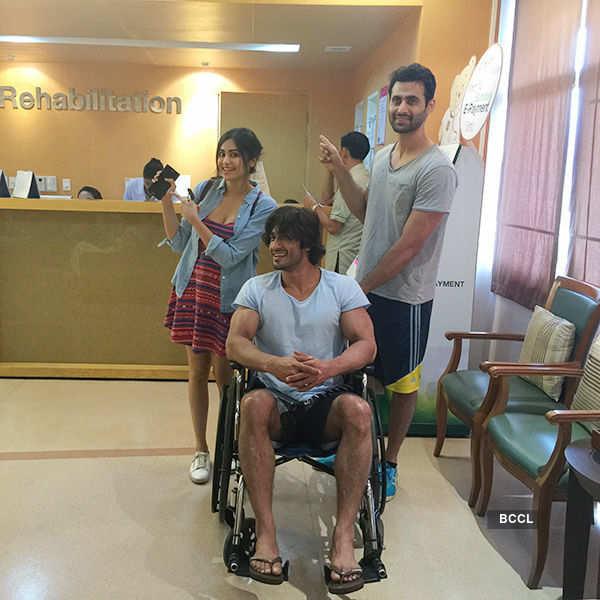 When celebrities got injured