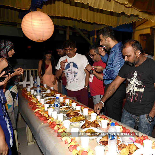 Kumkum Bhagya's Iftar party