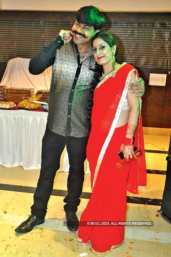 Sinchit & Neha's engagement ceremony