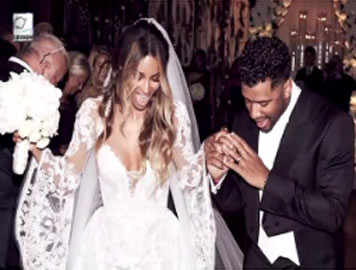 It's confirmed! Ciara and Russell Wilson are married
