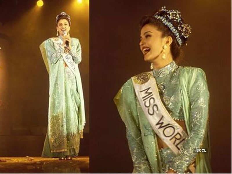 Mesmerizing throwback pictures of Aishwarya Rai as Miss World 1994
