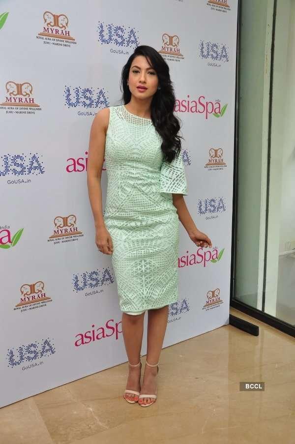 Gauhar Khan unveils Asia Spa India Magazine