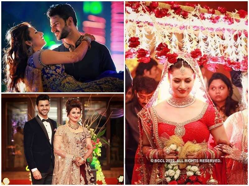 Divyanka Tripathi Mehndi Ceremony : Pictures of divyanka tripathi from her wedding ceremonies