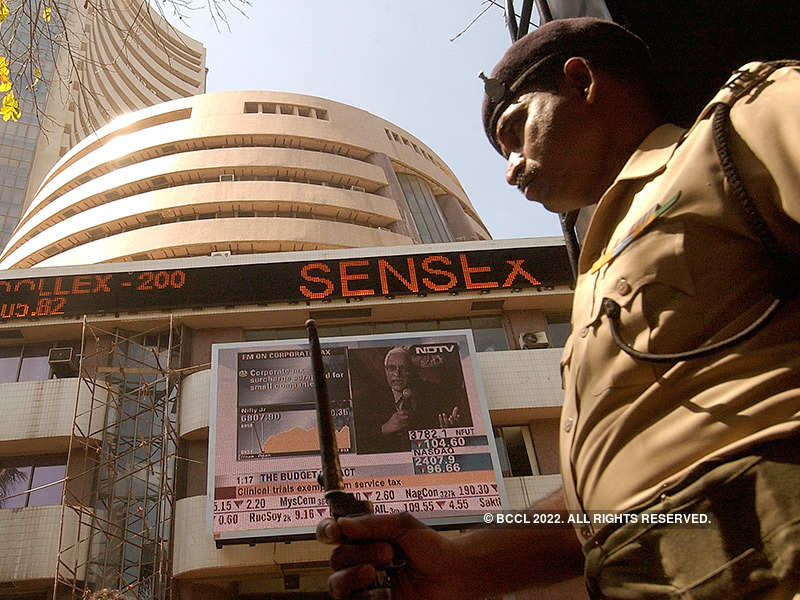 Sensex rallies 464 pts