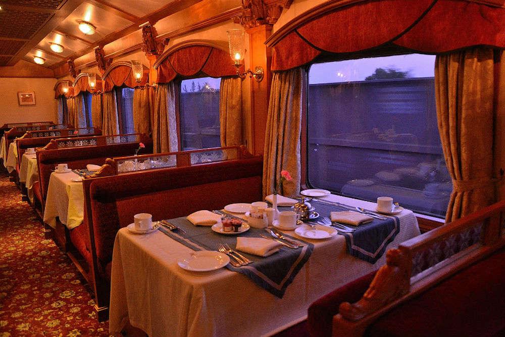 deccan odyssey luxury train fare