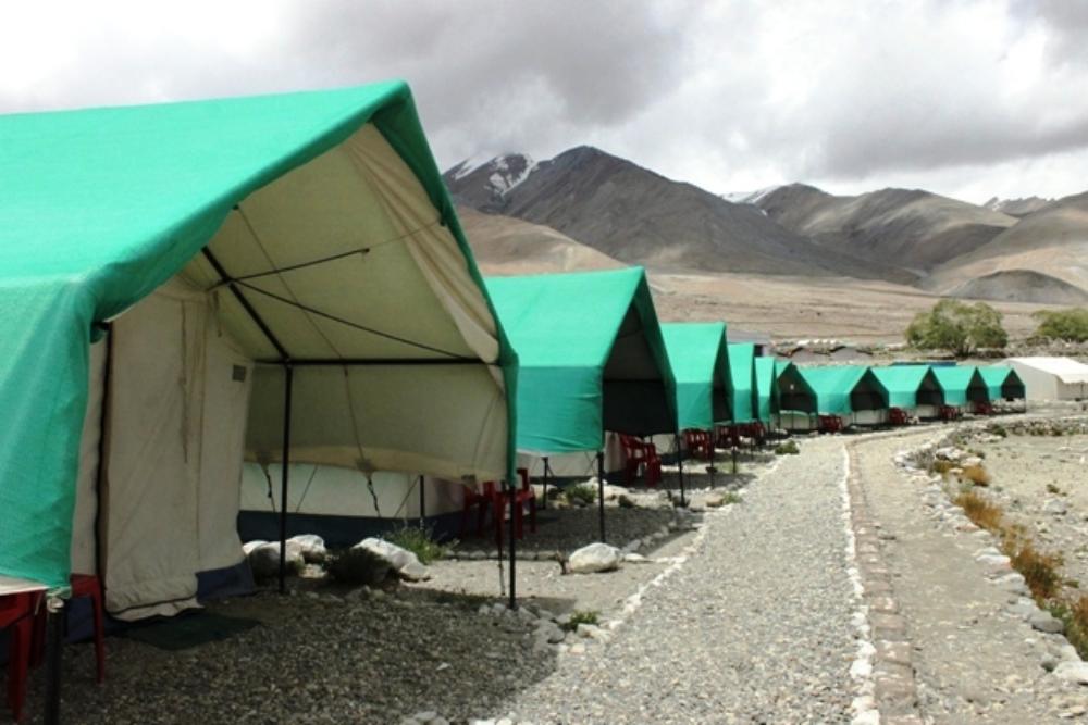Hundred Sky Camp Pangong