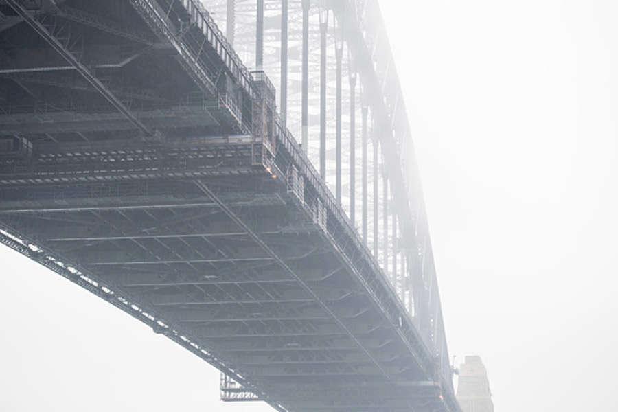 Fog blankets Sydney