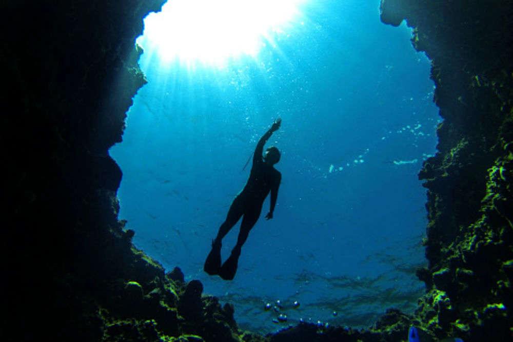 Deep sea diving with Scandinavian Divers
