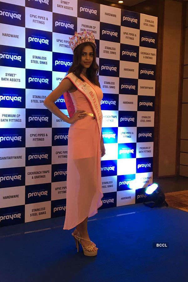 Priyadarshini Chatterjee attends the Prayag product launch in Kolkata