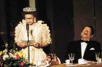 Queen Elizabeth with US Presidents
