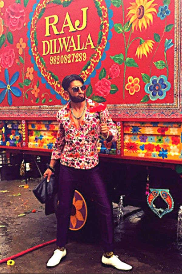 Ranveer Singh as Raj Diwala shares a candid photo