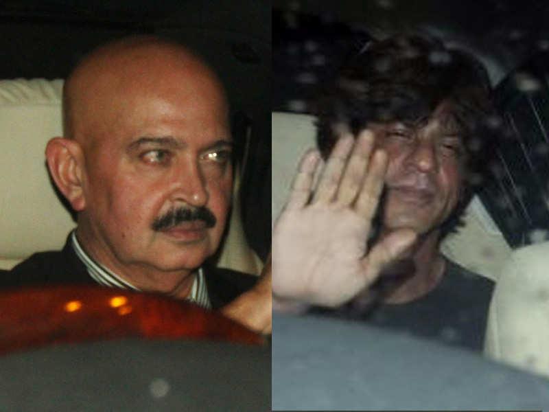 Shah Rukh Khan pays Rakhesh Roshan late night visit to avert 'Raees'-'Kaabil' clash?