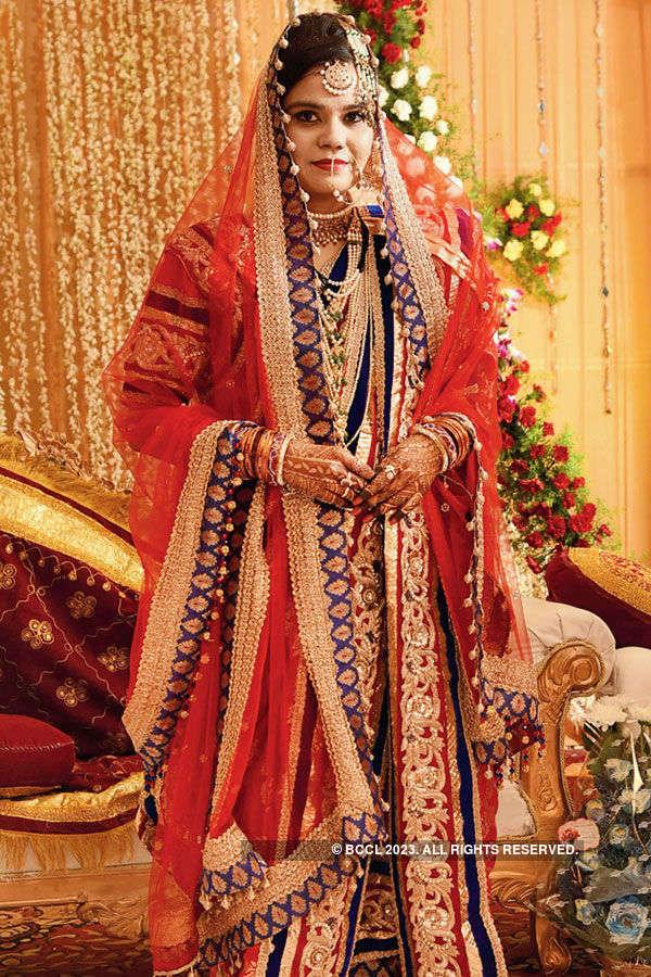 Maria's wedding ceremony