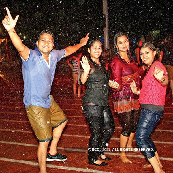 Rain dance party @ Benaras Club
