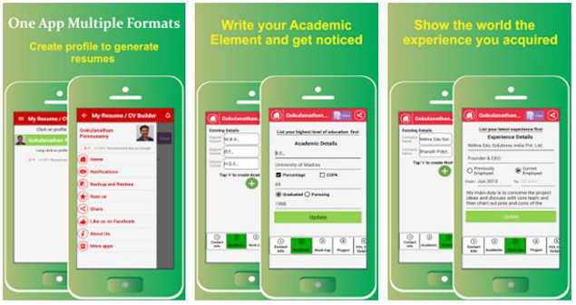 Comparison: 5 resume builder apps for Android - Apps News | Gadgets Now
