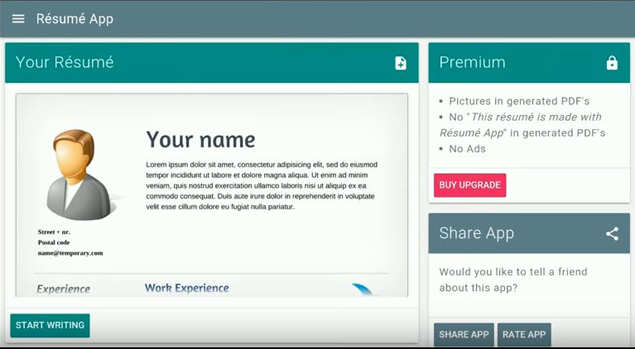 Comparison: 5 resume builder apps for Android - Apps News