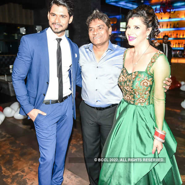 Sambhavna and Avinash throw party post wedding